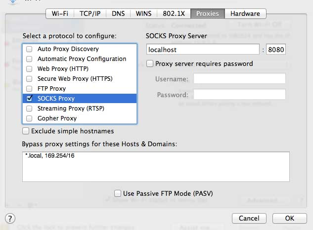 How to setup an SSH tunnel to browse the web securely